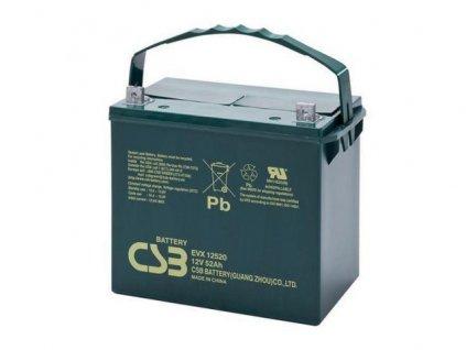 Baterie CSB EVX12520, 12V, 52Ah