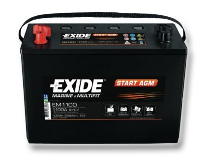 Baterie EXIDE START AGM 100Ah, 12V, EM1100 (EM 1100)