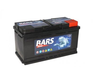 Autobaterie BARS 100Ah, 12V, 800A (352x175x190mm), bezúdržbový