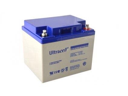 Ultracell UCG45-12 (12V - 45Ah), VRLA-GEL trakční baterie