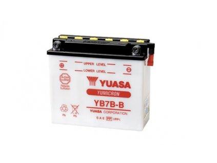 Motobaterie YUASA (originál) YB7B-B, 12V, 7Ah