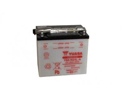 Motobaterie YUASA (originál) Y60-N24L-A, 12V,  28Ah