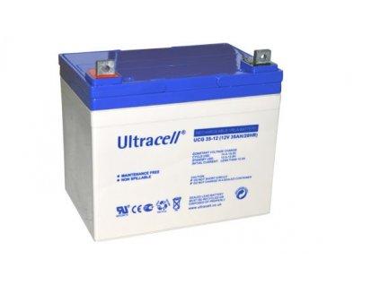 Ultracell UCG35-12 (12V - 35Ah), VRLA-GEL trakční baterie