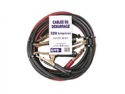 Startovací kabely GYS PROFI, 700A, 35mm, 4.5m