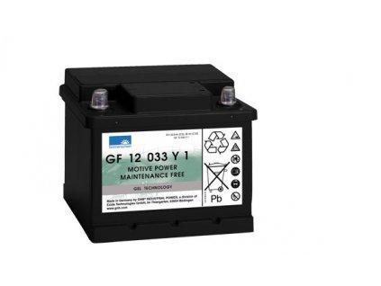 Gelový trakční akumulátor SONNENSCHEIN GF 12 033 Y 1, 12V, C5/33Ah, C20/38Ah