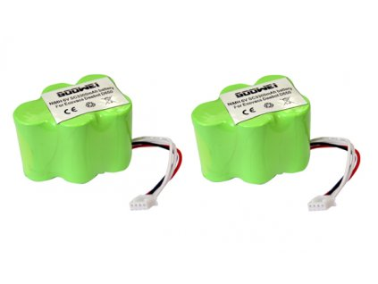 Goowei Baterie Ecovacs Deebot D62, D66, D73, D76, D77 ,  3300mAh, neoriginální  (sada 2 ks baterií 2