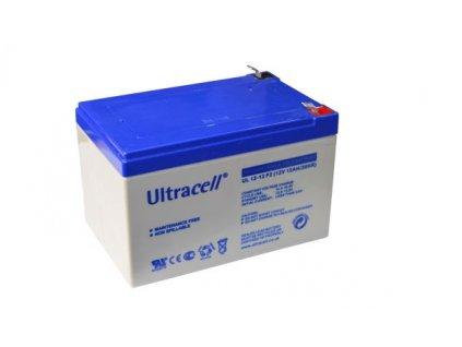 Ultracell UL12-12 F2 (12V - 12Ah), VRLA-AGM záložní baterie