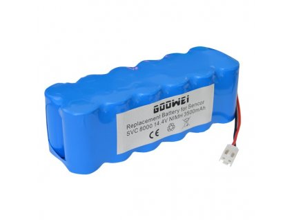 Goowei Baterie Sencor SVC 8000 - 3500mAh, neoriginální