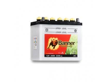 Baterie Banner Garden Bull 52421, 12N24-3, 24Ah, 12V