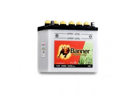 Baterie Banner Garden Bull 52422, 12N24-4, 24Ah, 12V