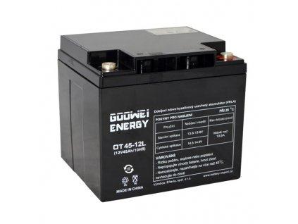 Trakční (GEL) baterie GOOWEI ENERGY OTL45-12, 45Ah, 12V
