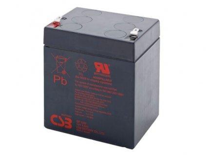 Baterie CSB GP1245 F2, 12V, 4,5Ah