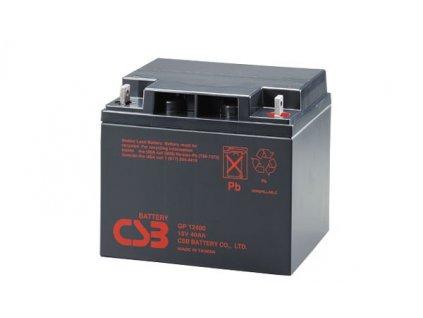 Baterie CSB GP12400, 12V,  40Ah