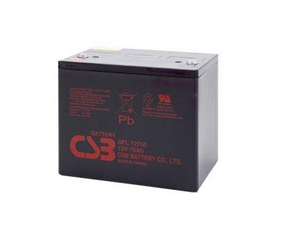 Baterie CSB GPL12750, 12V,  75Ah