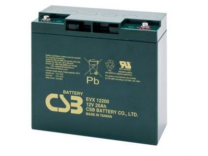 Baterie CSB EVX12200, 12V,  20Ah