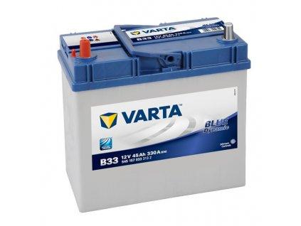 Autobaterie VARTA BLUE Dynamic 45Ah, 12V, B33