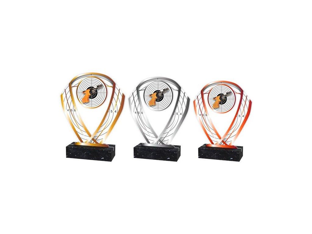 Acrylic trophy ACR001M14