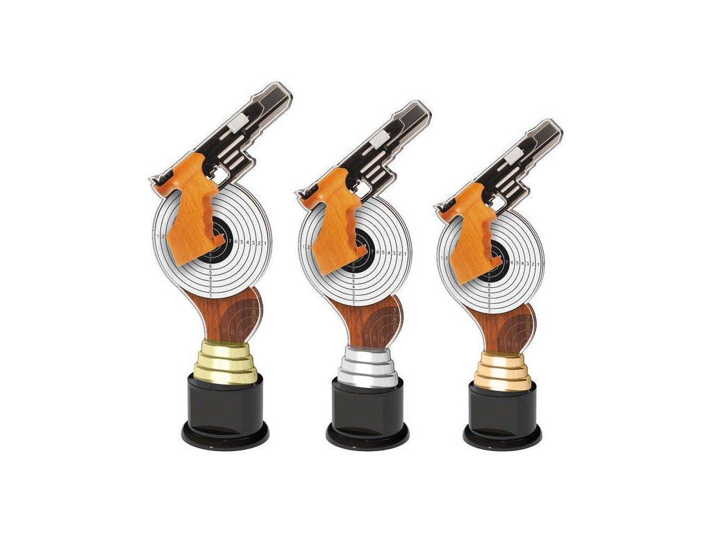 Acrylic trophy ACTC0030