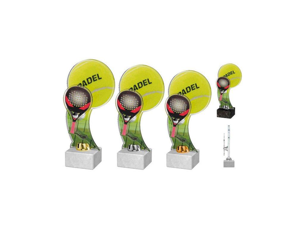Acrylic  trophy ACTD0045M2