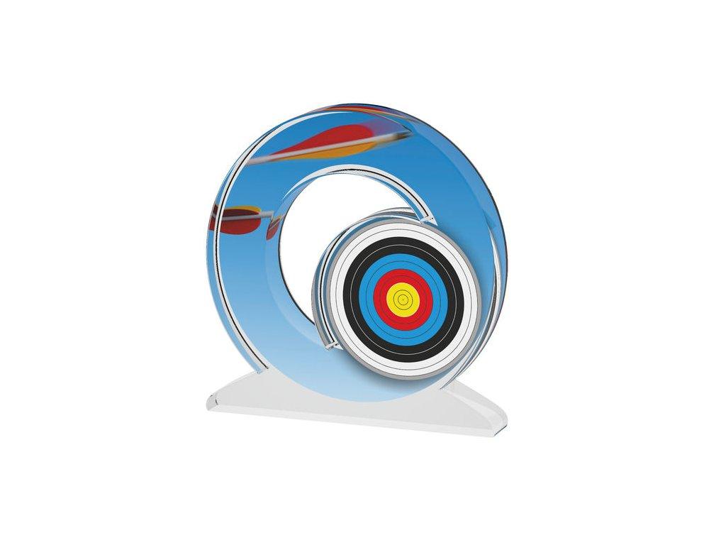 Acrylic trophy ACTW0200M30