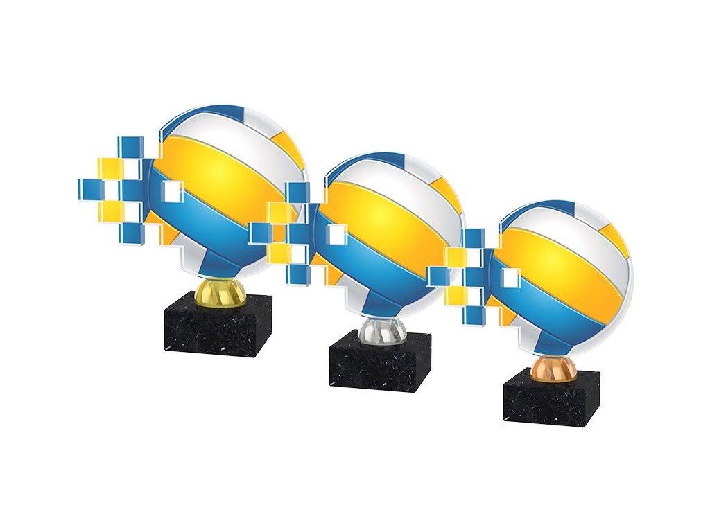 Acrylic trophy ACUB002M6
