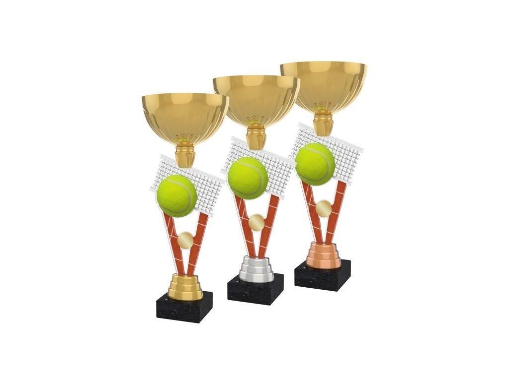 Acrylic trophy ACUPGOLD M10