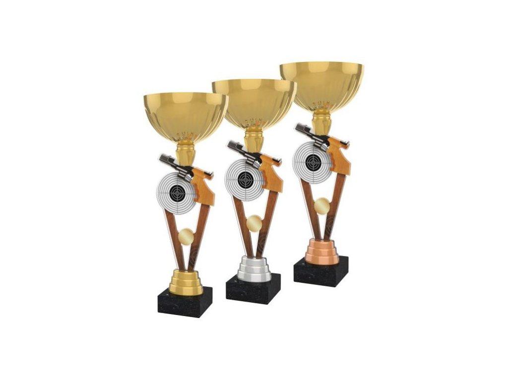 Acrylic trophy ACUPGOLD M13