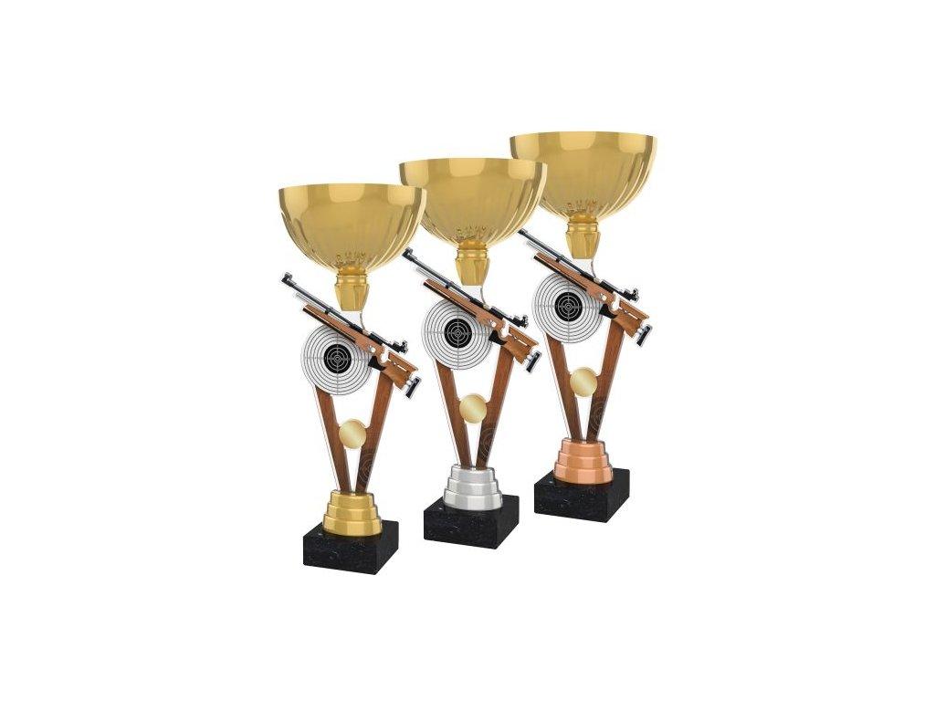 Acrylic trophy ACUPGOLD M14