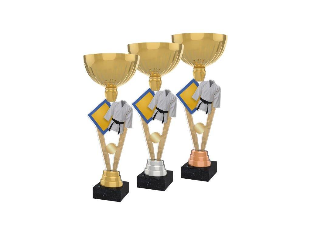 Acrylic trophy ACUPGOLD M15