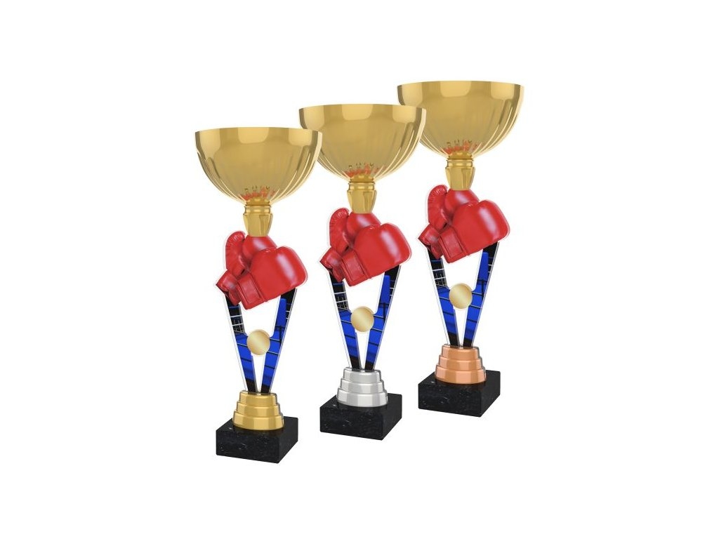 Acrylic trophy ACUPGOLD M16