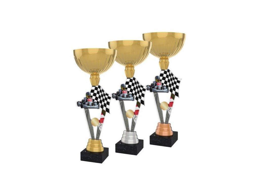 Acrylic trophy ACUPGOLD M17