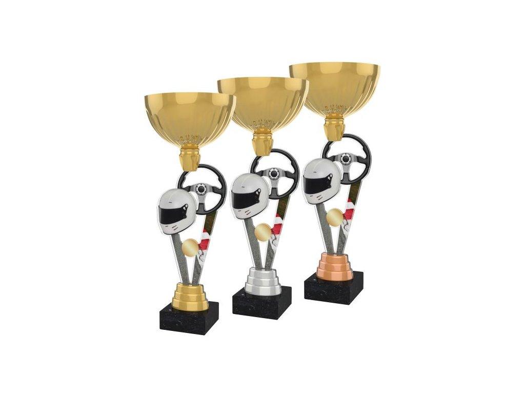 Acrylic trophy ACUPGOLD M18