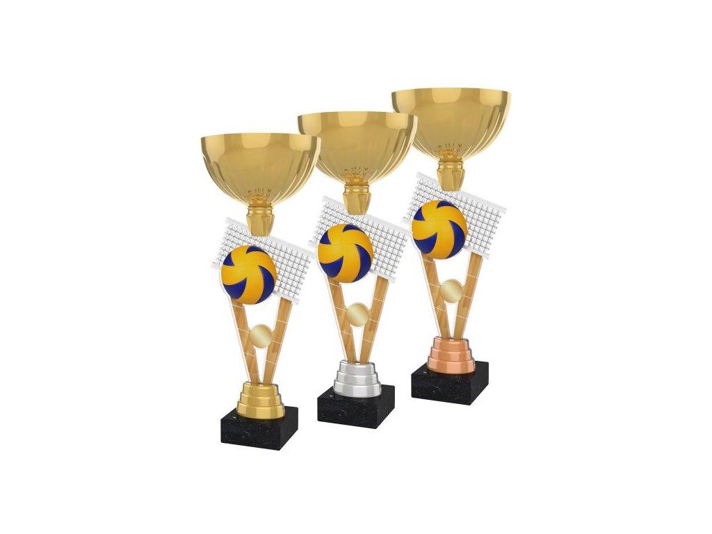 Acrylic trophy ACUPGOLD M19