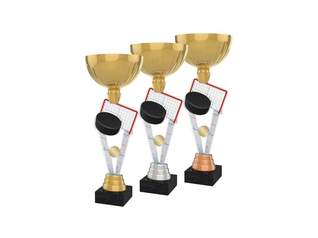 Acrylic trophy ACUPGOLD M02