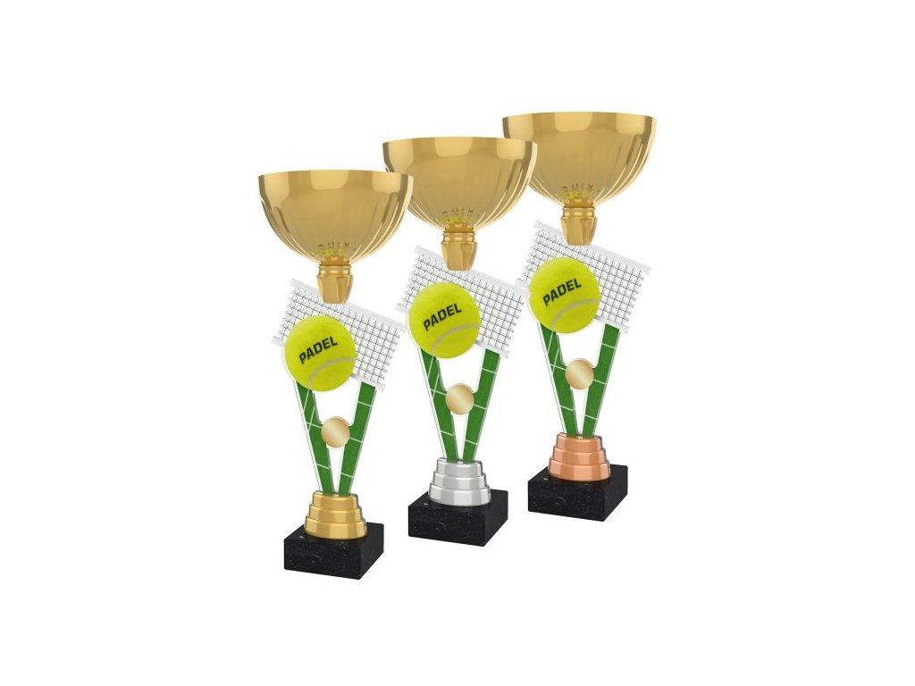 Acrylic trophy ACUPGOLD M20