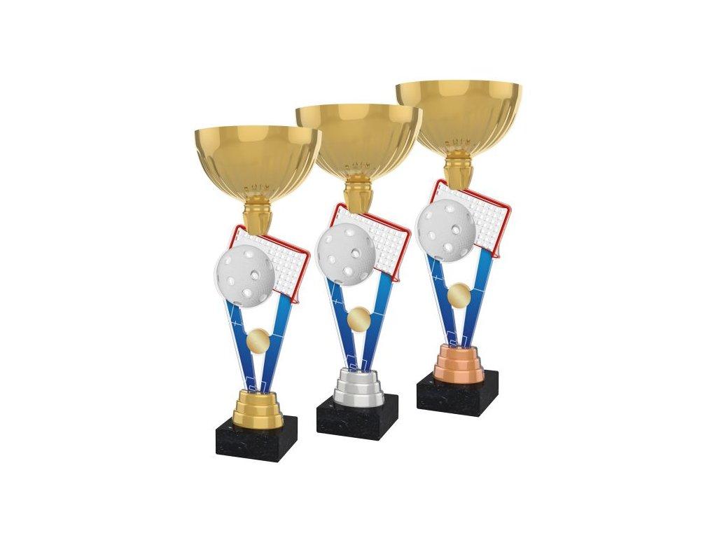 Acrylic trophy ACUPGOLD M23