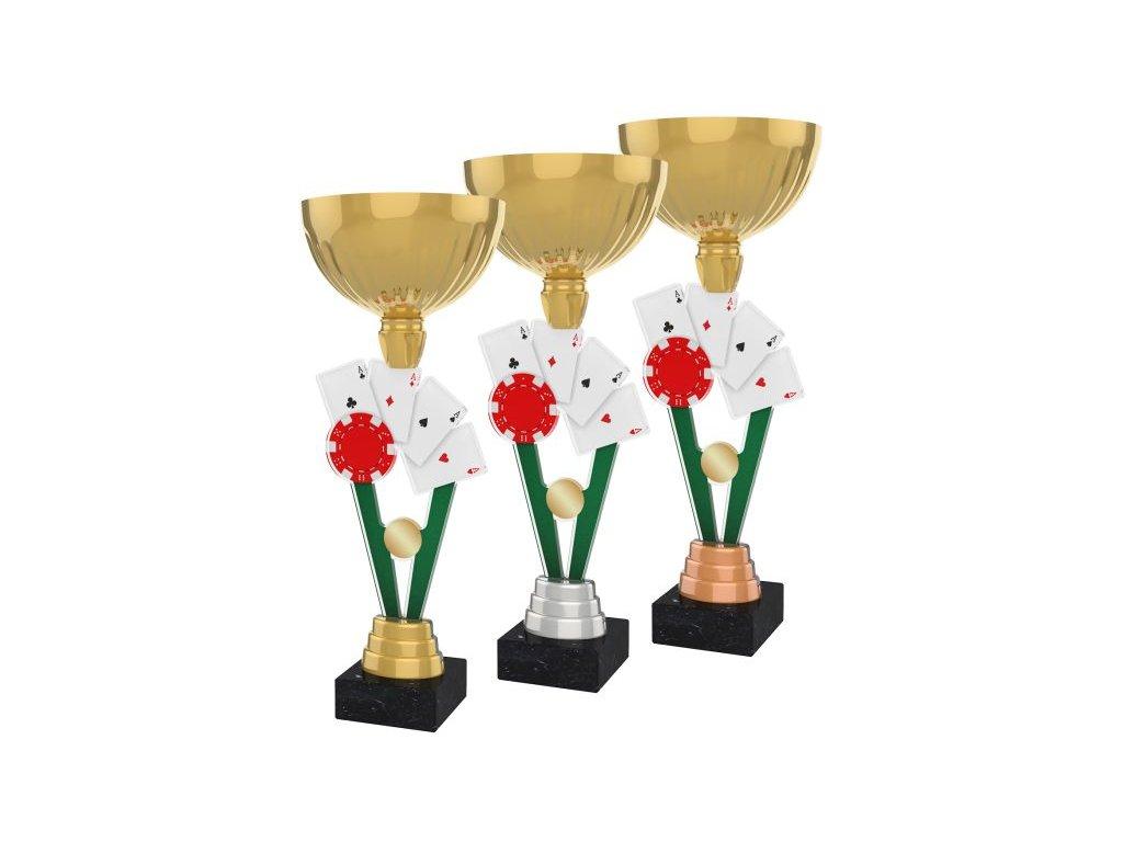 Acrylic trophy ACUPGOLD M26