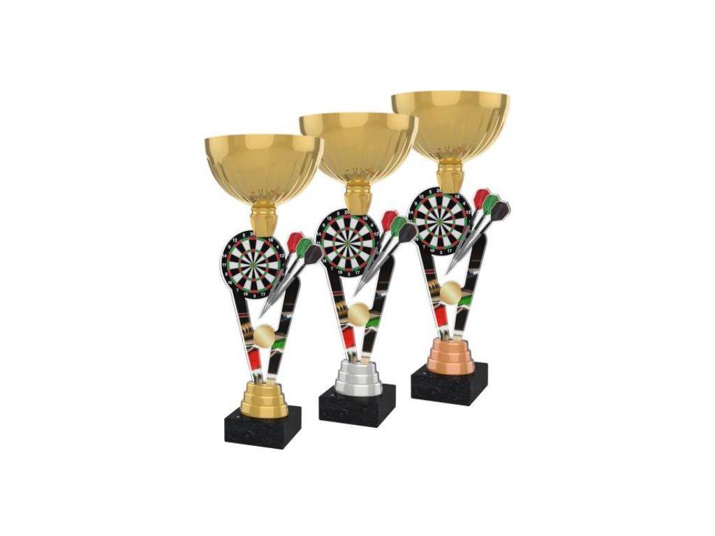 Acrylic trophy ACUPGOLD M27