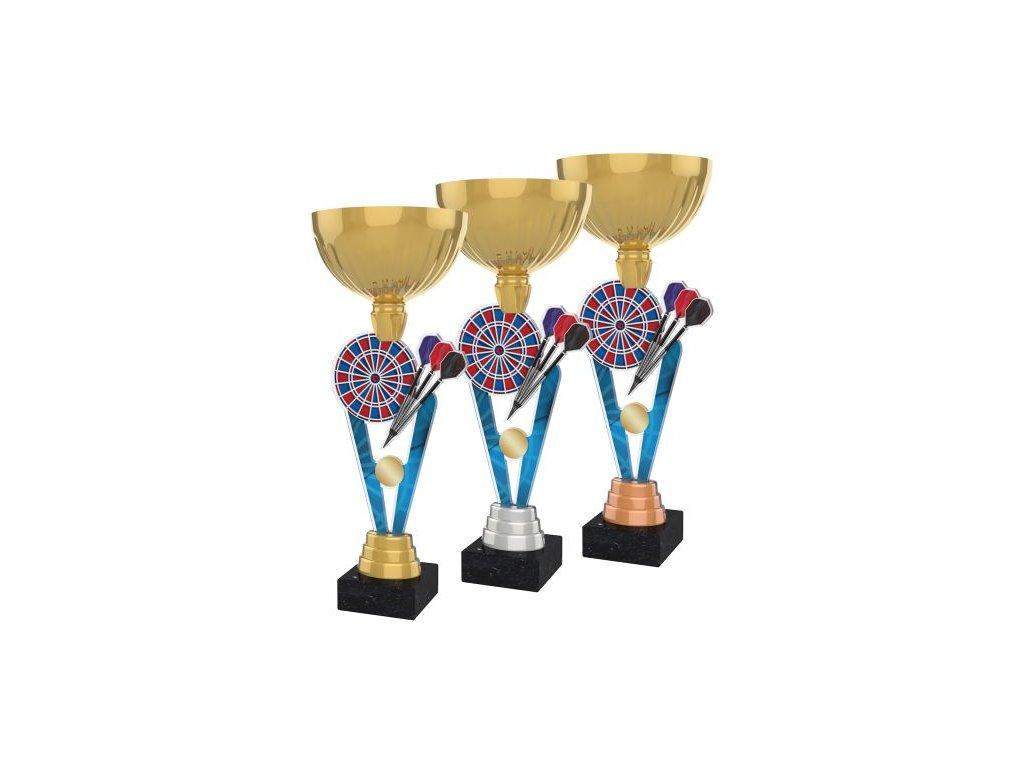 Acrylic trophy ACUPGOLD M28