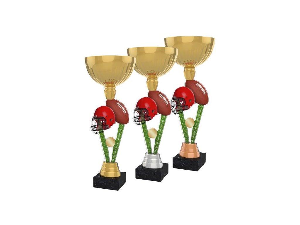 Acrylic trophy ACUPGOLD M29