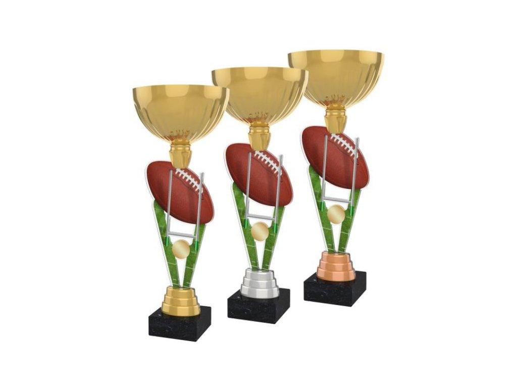Acrylic trophy ACUPGOLD M30