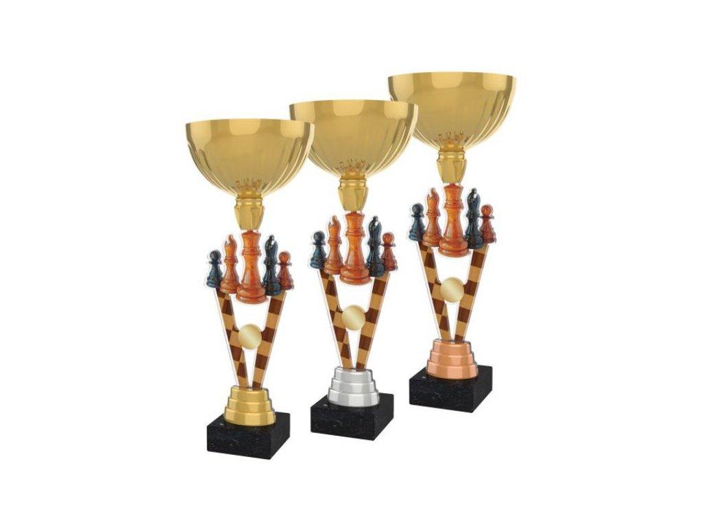 Acrylic trophy ACUPGOLD M32