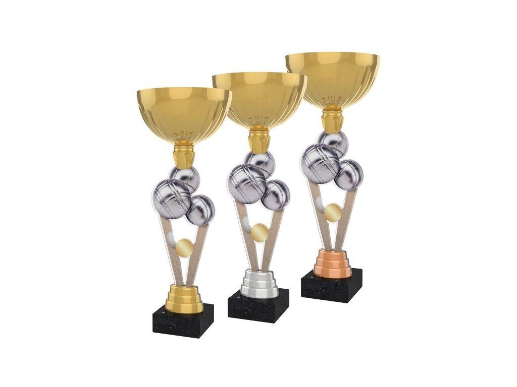 Acrylic trophy ACUPGOLD M34