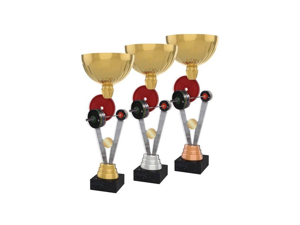 Acrylic trophy ACUPGOLD M35