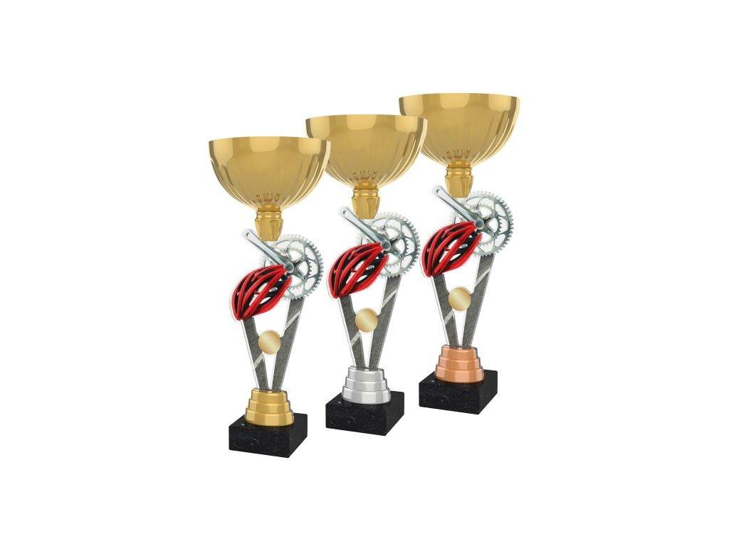 Acrylic trophy ACUPGOLD M36