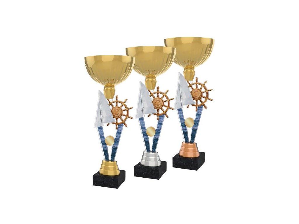 Acrylic trophy ACUPGOLD M37