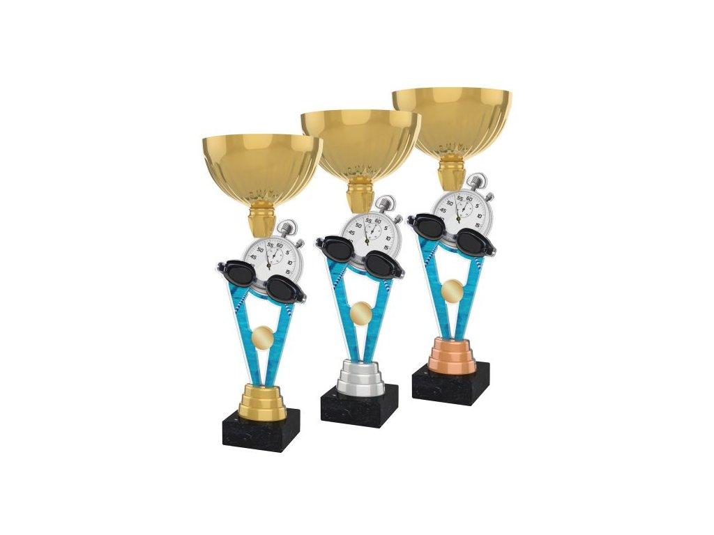 Acrylic trophy ACUPGOLD M38