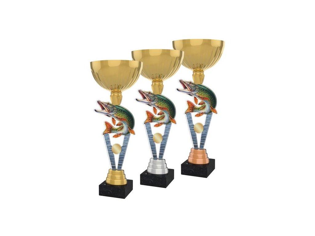 Acrylic trophy ACUPGOLD M39