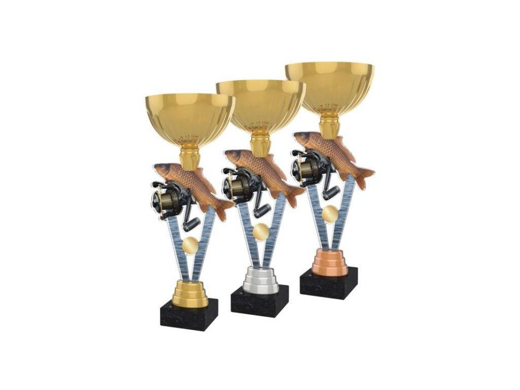 Acrylic trophy ACUPGOLD M40