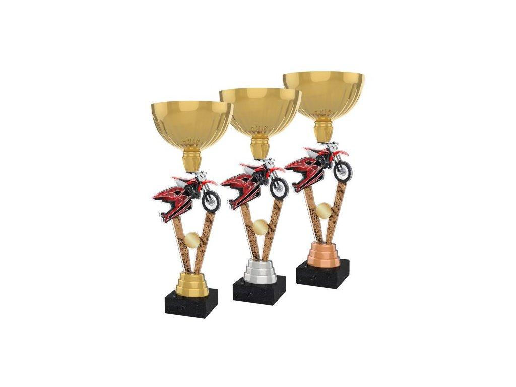 Acrylic trophy ACUPGOLD M42